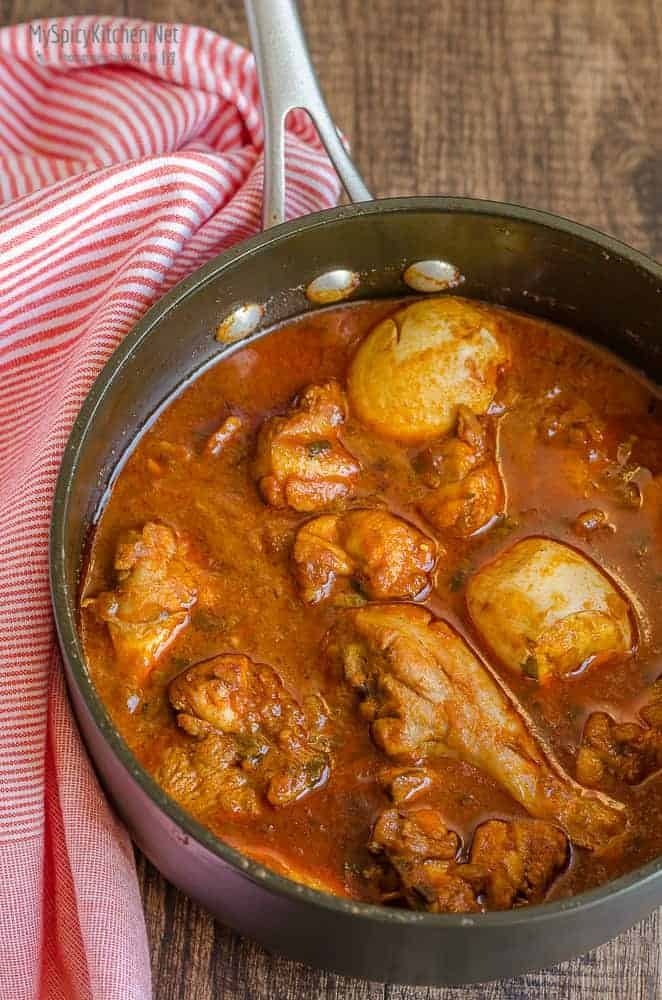 Doro Wat ~ Ethiopian Chicken Stew #FoodOfTheWorld